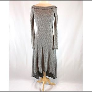 Anthropologie high-low sweater dress size xs